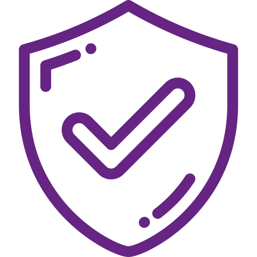 Secure shield icon